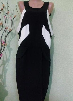 Коктейльное вечернее платье большого размера