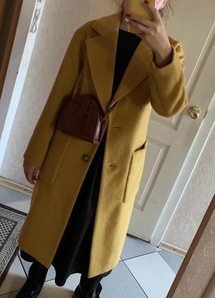Пальто,длинное пальто,яркое пальто