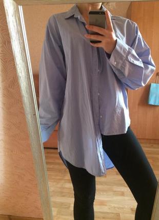 Асимметричная трендовая рубашка zara