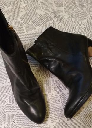 Ботинки на высоком каблуке nine west