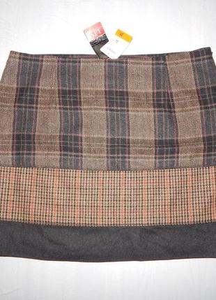 L-xl, теплая новая юбка мини liv