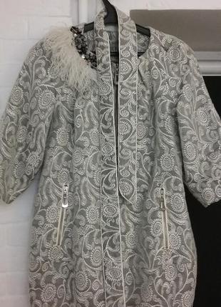 Пальто женское летнее sergio cotti