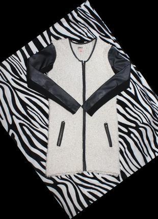 Вязаное пальто only