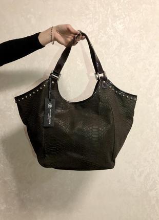 Кожаная сумка стиль
