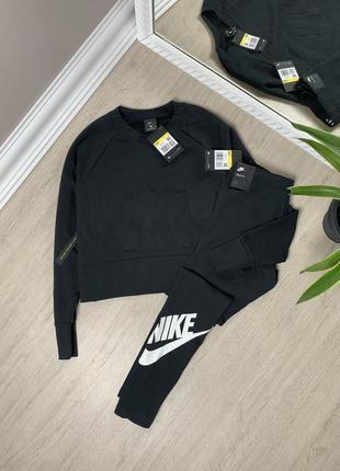 Nike костюм женский найк оригинал спорт спортивный лосины леггинсы штаны кофта свитшот