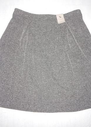 Xl, новая трикотажная юбка tu