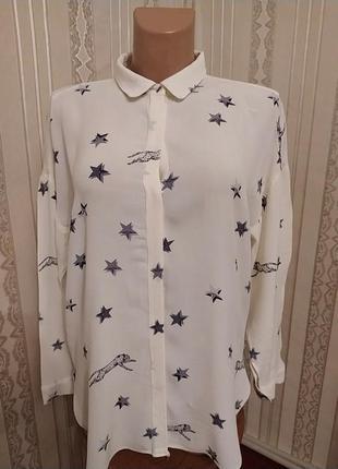 Актуальная женская рубашка блузка