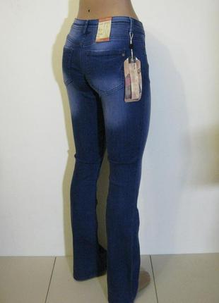 Демисезонные клеш джинсы tom tailor новые