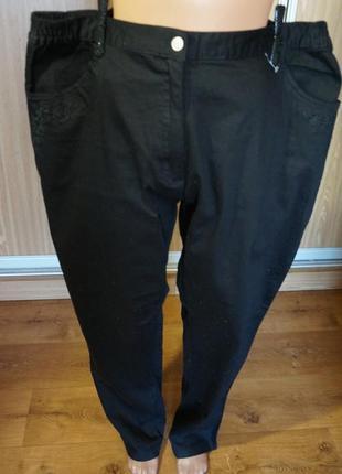 Классные,стрейчевые  джинсы батального размера