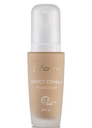 Тональный крем flormar perfect coverage foundation