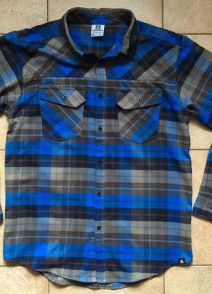 Salomon рубашка чол.р.m
