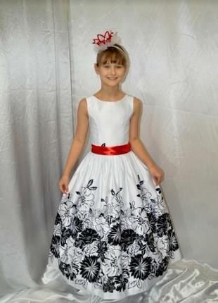 Атласное нарядное платье для девочки подростка  #розвантажуюсь