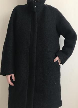 Пальто с шерстью h&m logg