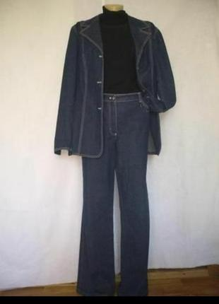 Escada шикарный винтажный брючный костюм