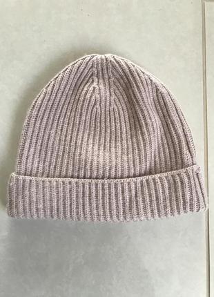 Шапка зимняя стильная модная hm размер м