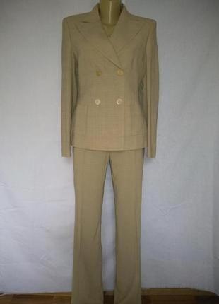 Windsor роскошный брючный костюм, премиум класса, шерсть