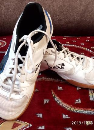 Белые кроссовки, кеды puma, размер 37