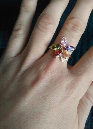 Кольцо разноцветное.