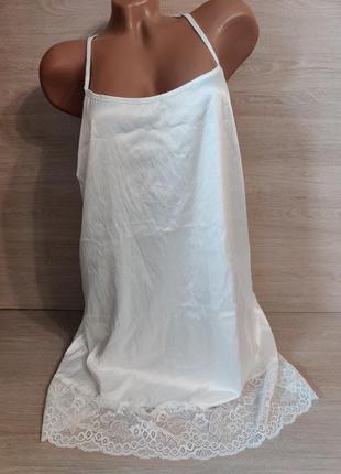 Женственная ночнушка с кружевом,  36/38 евро.