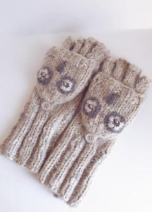 Перчатки - варежки теплые next