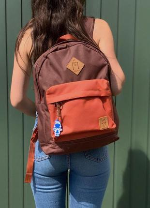 Крутой рюкзак dakine detail в коричнево-оранжевом цвете 😍
