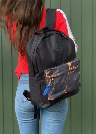 Шикарный рюкзак dakine в огненном дизайне 😍