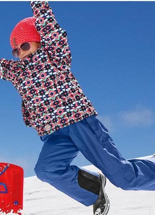Костюм горнолыжный на девочку и краги в комплекте crivit sport германия