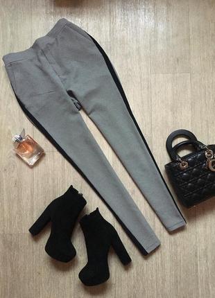 Красивые брюки с высокой посадкой