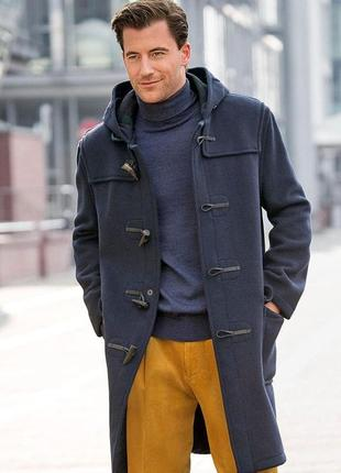 Пальто шерстяное дафлкот