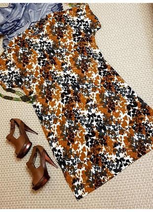Платье большого размера с леопардовым принтом autograph