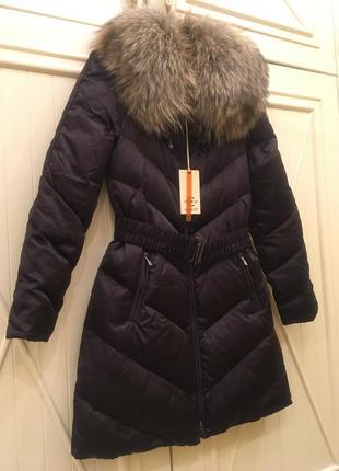 Оригинальное пуховое пальто cerutti.