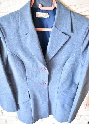 Удлинненный пиджак, италия