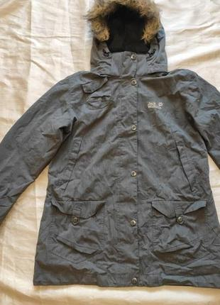 Куртка парка jack wolfskin