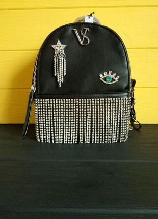 Новая коллекция! рюкзак от victorias secret виктория сикрет со стразами