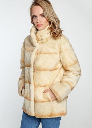 Куртка из меха нутрии