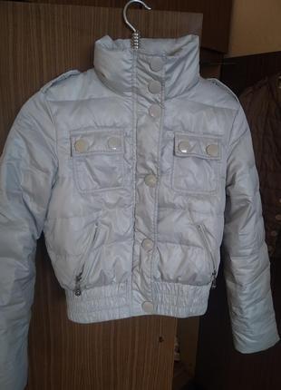 Короткая курточка - бомбер