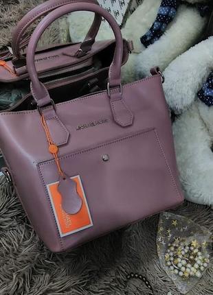 200 моделей сумок . женская кожаная сумка пудра натуральная кожа