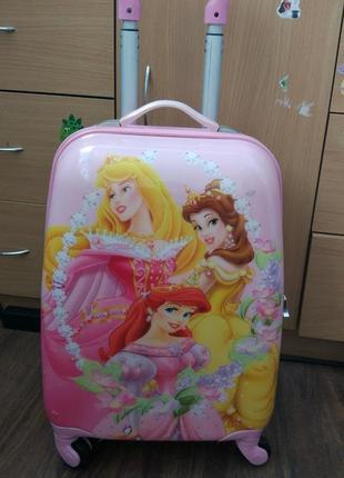 Детский чемодан принцессы диснея princess disney