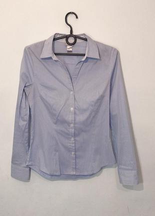 Базовая рубашка в полоску h&m s