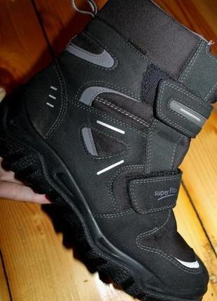 42 разм. зимние ботинки superfit на gore - tex. термо.
