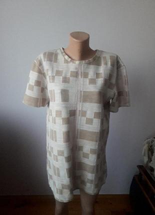 Стильная теплая футболка размер хл