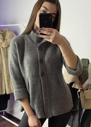 Кашемировый серый свитер effetto f кардиган