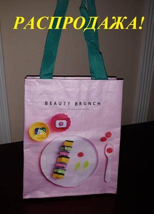 Сумка для покупок, сумка шоппер, для шоппинга, многоразовый пакет tigota