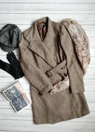 Пальто шерстяное, фирменное, уценка м- л