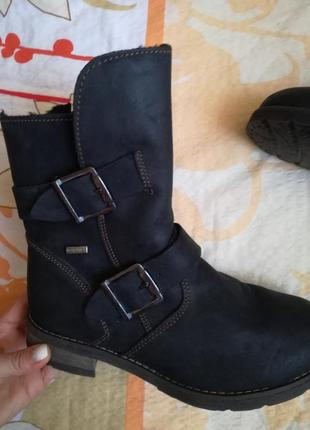 Кожаные дизайнерские ботинки roberto santi (мембрана ultratex)(внутри мех)