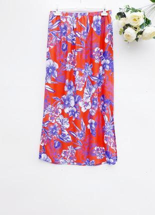 Летняя юбка макси длинная юбка натуральная юбка
