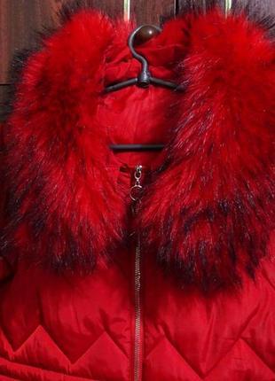 Пальто зимнее, стёганое