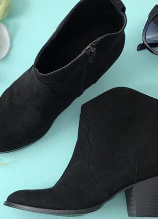 Отличные ботинки asos, экозамш.