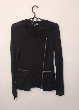 Актуальный жакет куртка пиджак косуха s