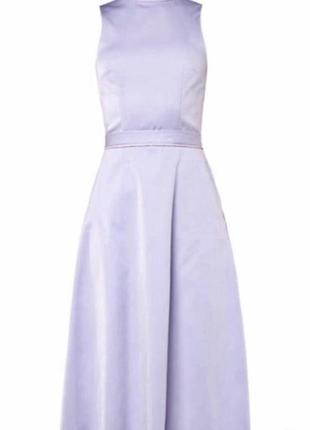Роскошное брендовое платье от nikkie/ лавандовое платье